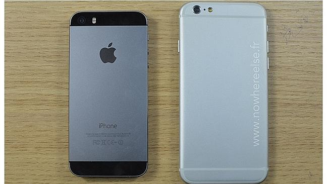 Hello, big boy! This leak supposedly shows off one of the larger sized new iPhones. Sourc